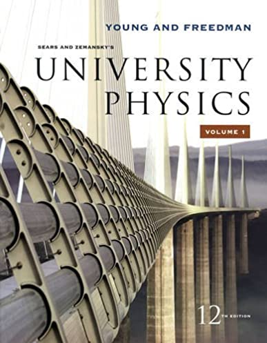 amazon com sears and zemansky s university physics vol 1 rh amazon com university physics 12th edition solution manual university physics 12th edition solution manual