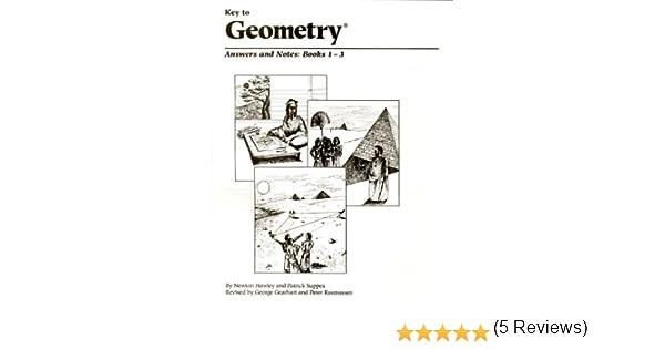 Amazon.com: Key to Geometry - Answers 1-3 (Key to...Workbooks) (Bk ...