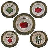 Certified International Corp 89231 Certified International Pomodoro Pasta Set, Multicolored, 5 Piece