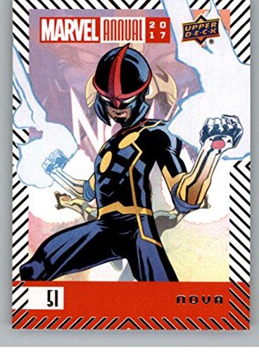 2018 Upper Deck Marvel Annual #51 Nova Marvel Trading Card Nova Superhero -