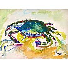 Betsy Drake DM263G Green Crab Doormat 30 x 50