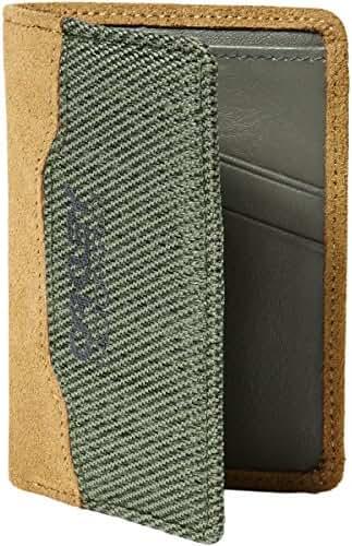 Oakley Mens Factory Pilot Leather Wallet