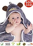 Premium Hooded Baby Towel, 100% ORGANIC Bamboo, FREE Baby...