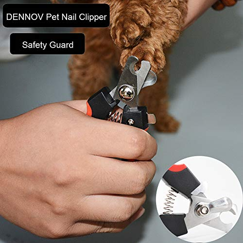 DENNOV Cat Nail Clippers, Dog Nail Clippers,Professional Pet Nail Clipper