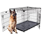 Lucky Dog Training Crate with Stabilizers, 48″ x 30″ x 33″ For Sale