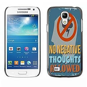 Dragon Case - FOR Samsung Galaxy S4 Mini i9190 - waste their time on you - Caja protectora de pl??stico duro de la cubierta Dise?¡Ào Slim Fit