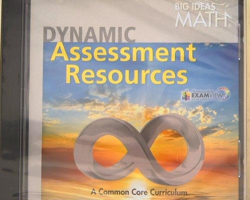 BIG IDEAS MATH: Common Core Dynamic Assessment Resource DVD