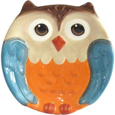 Figural Owl Salad Plate, Set of 4