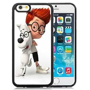 Beautiful Custom Designed Cover Case For iPhone 6 4.7 Inch TPU With Mr. Peabody Sherman Phone Case WANGJING JINDA