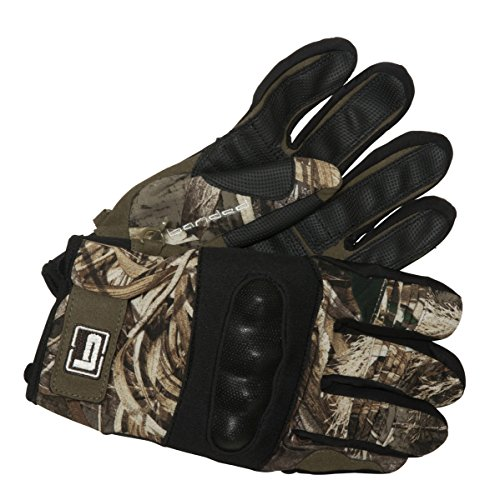 - Banded Protective Wind Resistant Blind Gloves, MAX5, Medium