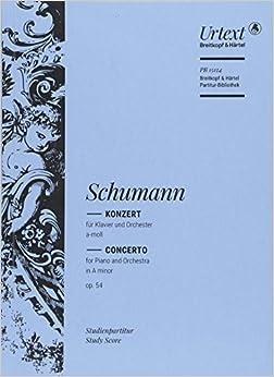 シューマン: ピアノ協奏曲 イ短調 Op.54/Jost編/ブライトコップ & ヘルテル社/スコア