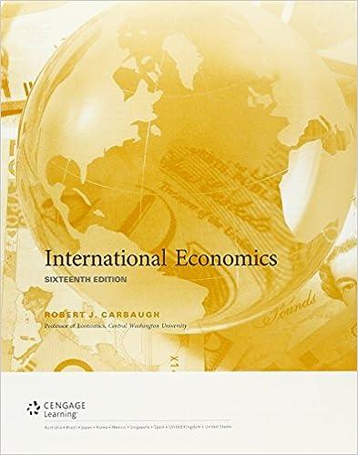 Bundle: International Economics, Loose-leaf Version, 16th + MindTap Economics, 1 term (6 months) Printed Access Card