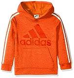 adidas Boys' Big Athletic Pullover Hoodie, Bold Orange ADI 1 S (8/10)