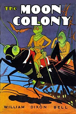 book cover of The Moon Colony