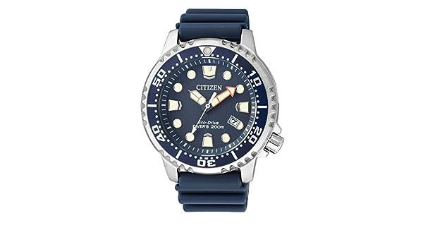 Amazon.com: Citizen Mens Analogue Quartz Watch with Plastic Strap BN0151-17L: Citizen: Watches