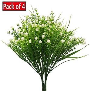 JWCTECH Artificial Plants Flowers Artificial Plants Greenery Artificial Flowers 5