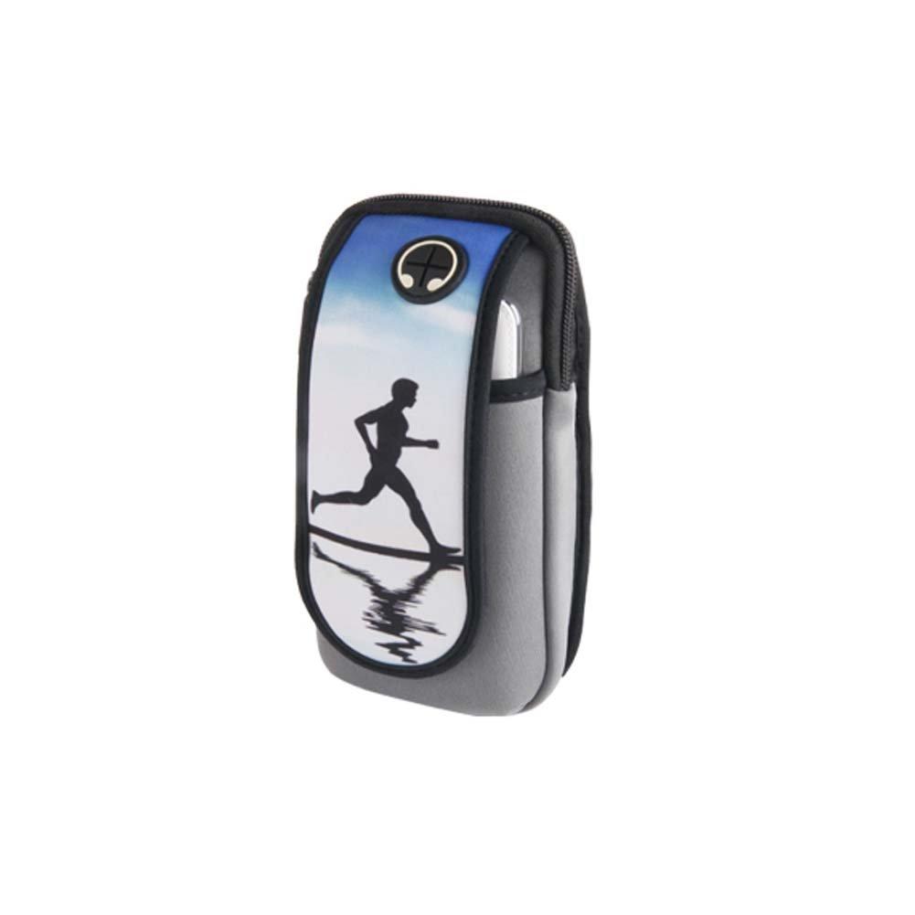 メンズ/レディースフィットネス手首バッグRunning旅行ハイキング携帯電話アームパック_ a4   B075FM83SY