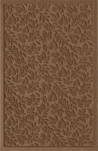American Floor Mats Waterhog Fall Day Designer Dark Brown 4' x 6' Entrance Floor Mat with Gripper Backing