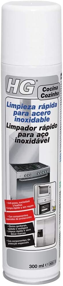 HG 341030130 - Limpieza rápida de acero inoxidable (envase de 300 ml)