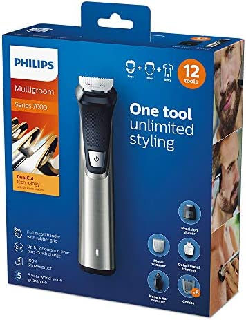Philips Series 7000 12-en-1 Ultimate Multi Grooming Kit para ...
