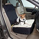 Snoozer Half Bench Lookout Perch Pet Car Seat, Black