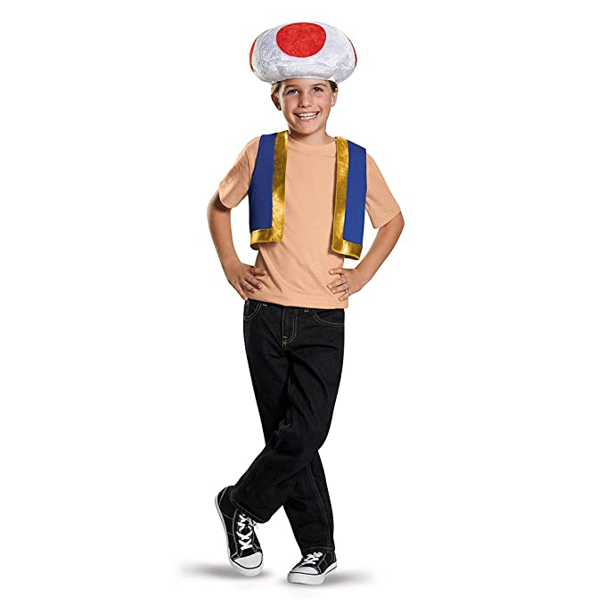 sc 1 st  Amazon.com & Amazon.com: Disguise Toad Child Costume Kit: Toys u0026 Games