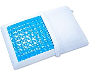 Amazon Com Pharmedoc Memory Foam Pillow W Cooling Gel