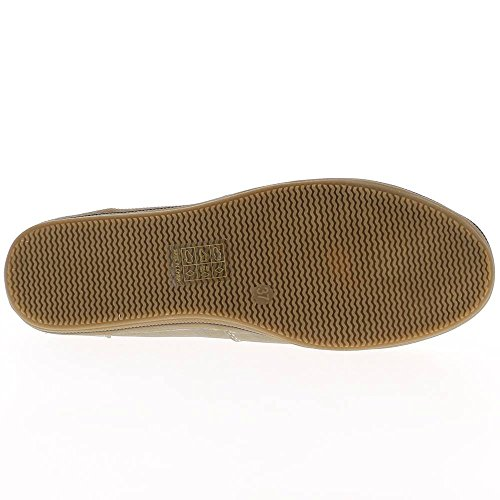 Stiefel Frauen graue flache gefüttert Leder-Optik