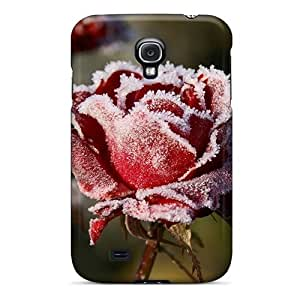 Durable For CaseThe Galaxy S4- Eco-friendly Retail Packaging(rose)