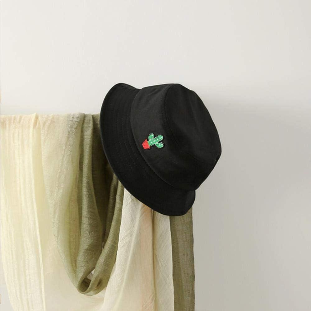 Amn Bordado Cactus Bucket Hat///Hombres Summer Caps Beach Sun Pesca Bucket Hat Verde