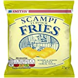 Smith's Savoury Snacks Selection Scampi Fries, 27 g, Pack of 24
