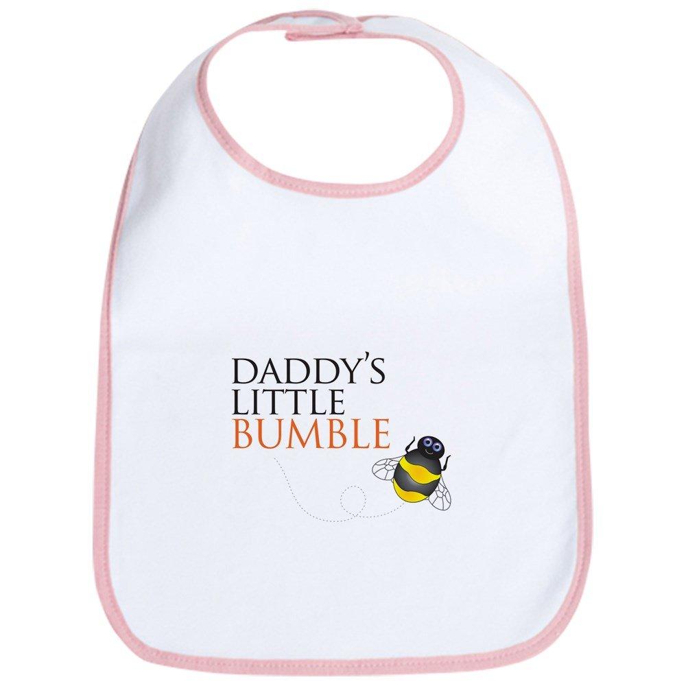 CafePress Daddy's Bumble Bee Bib Cloth Baby Bib Toddler Bib