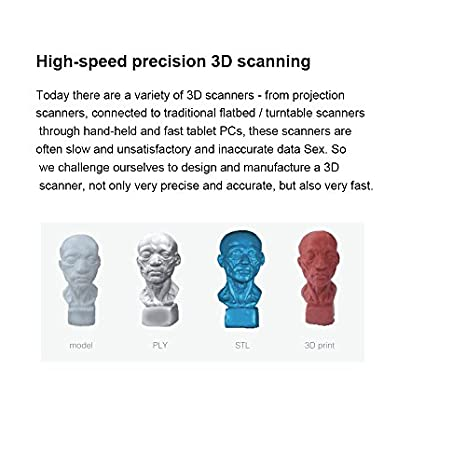 Nanjue Mobile Phone Type 3D Scanner, 0 2mm High-precision Laser on