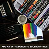 ARTY KRAFTS 1 inch Painting Foam Brush 25 Pieces