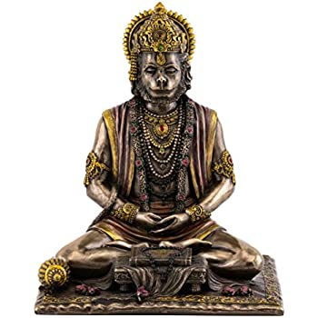 Amazon com: PTC 6 Inch Hanuman Mythological Indian Hindu God Resin