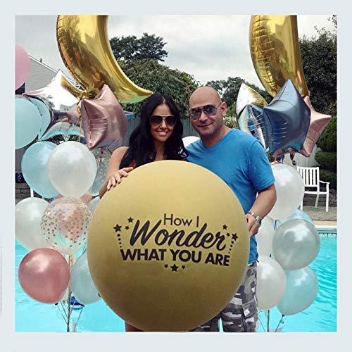 Twinkle Twinkle Little Star, Gender Reveal Balloon, Giant 36