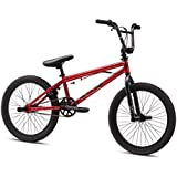 Mongoose Boy's Legion L20 Bicycle, 20-Inch, Red