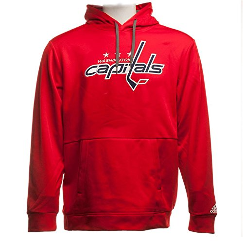 NHL Washington Capitals Authentic Pullover Hood, Red, XX-Large