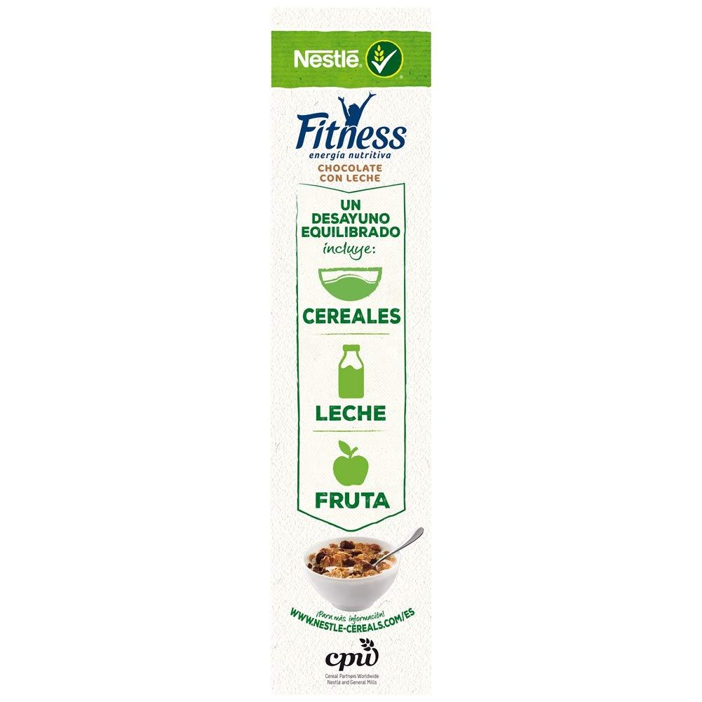 Cereales Nestlé Fitness con chocolate con leche - Copos de trigo integral, arroz y avena integral tostados - 16 paquetes de cereales de 600 g: Amazon.es: ...