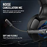 ONIKUMA Gaming Headset-PS4 Headset with Mic, 7.1