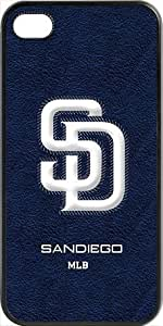 MLB Team Logo, San Diego Padres Team Logo Case For Iphone 5C Cover (BlacSan Diego Padres 1
