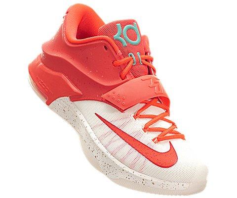 Chaussure De Basket Nike Kd7 Hommes (8, Pourpre Brillant / Ivoire)