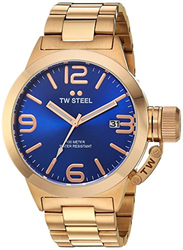 TW Steel Men's CB181 Analog Display Quartz Rose Gold Watch