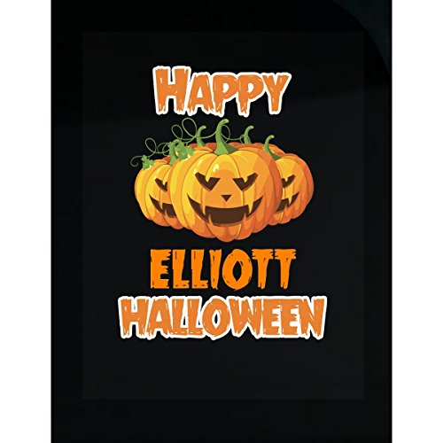 Prints Express Happy Elliott Halloween Great Personalized Gift for Halloween - Sticker