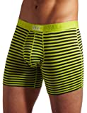 #7: SAXX Underwear Men's Vibe Boxer Brief with BallPark Pouch