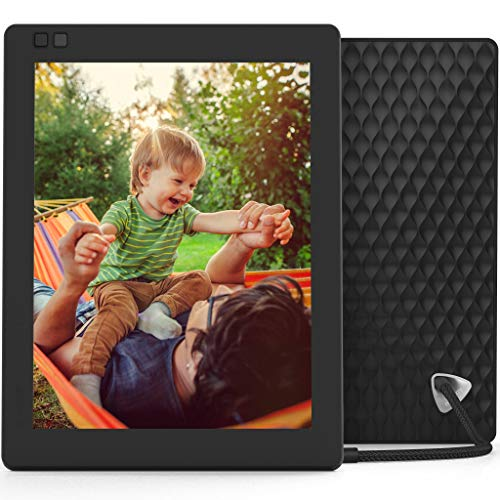 Nixplay Seed Ultra 2K High Definition Wi-Fi 10 Inch Digital Picture Frame, with E-Mail, iPhone & Android App, Free 10GB Online Storage, Google Photos, Facebook, Motion Sensor from nixplay