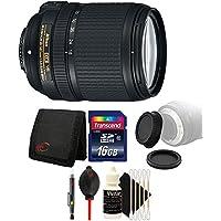 Nikon AF-S DX NIKKOR 18-140mm f/3.5-5.6G ED Vibration Reduction Zoom Lens with Auto Focus for Nikon D7100 D3200 with Accessory Bundle