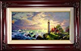 The Guiding Light by Thomas Kinkade 18'' x 36'' Gallery Proof