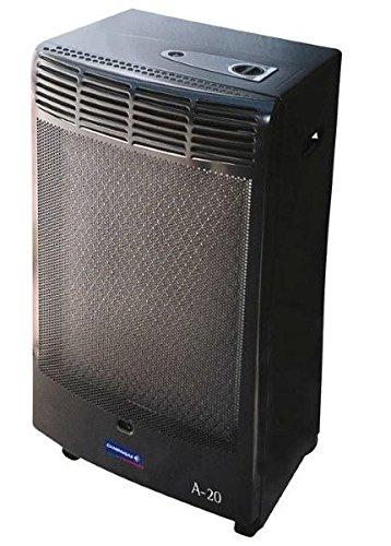 Campingaz Cr5000 Thermo Estufa de Gas termostatica, Acero, Antracita, 45x35x78 cm: Amazon.es: Jardín