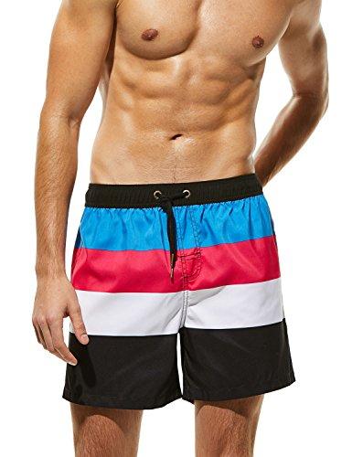 TAUWELL by SEOBEAN Mens Sports Surfing Swimwear Board Shorts